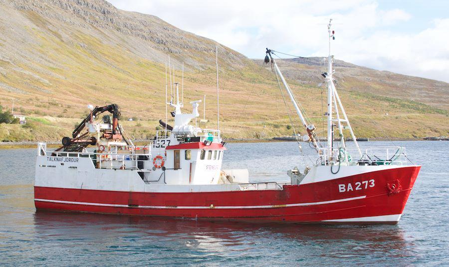 Ljósmynd: Guðlaugur Albertsson Tálknafirði